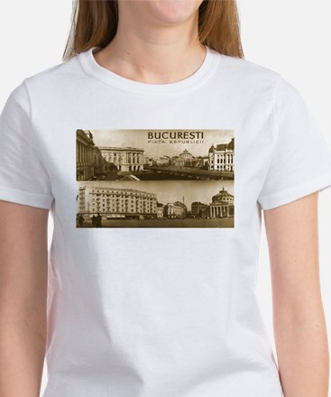"""""""Letters from Romania"""" Women's T-Shirt"""