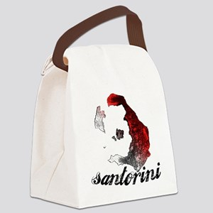 santorini_tee_light Canvas Lunch Bag