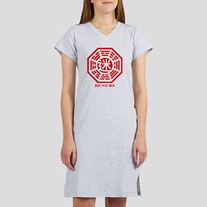 4-RED_lost Women's Nightshirt