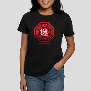 4-RED_lost Women's Dark T-Shirt