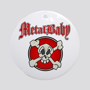 MetalBaby Ornament (Round)