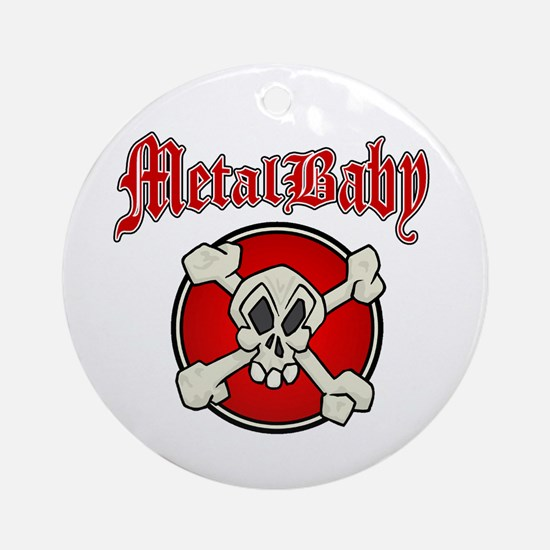 MetalBaby Ornament (Round)