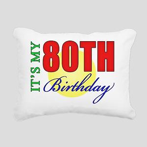 bdayII80 Rectangular Canvas Pillow