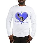 I Love Racing Siberians Long Sleeve T-Shirt