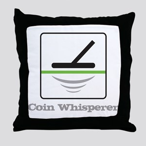 MD Coin Whisperer Throw Pillow