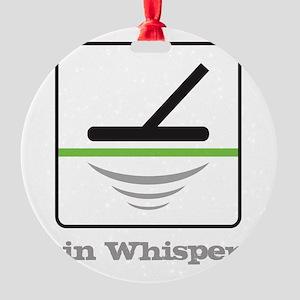 MD Coin Whisperer Round Ornament