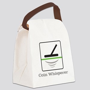 MD Coin Whisperer Canvas Lunch Bag