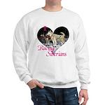 I Love Racing Siberians Sweatshirt
