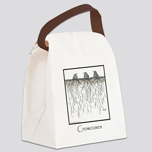 Crowcuses 10x10 Template Canvas Lunch Bag