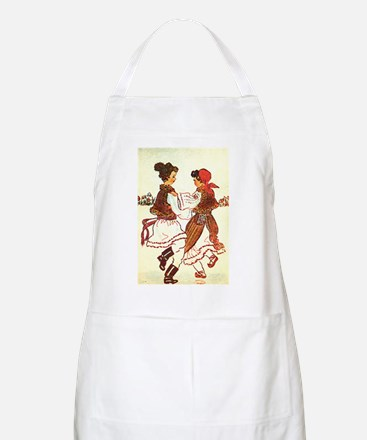 """""""Letters from Romania"""" BBQ Apron"""