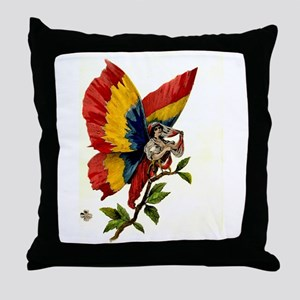 """Letters from Romania"" Throw Pillow"