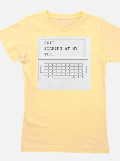 text-1 Girl's Tee