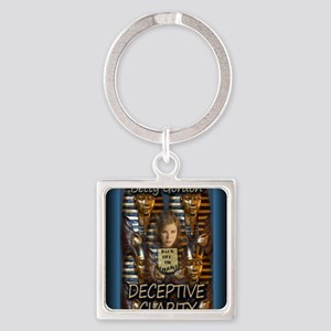 Deceptive Clarity Mouse Pad Square Keychain