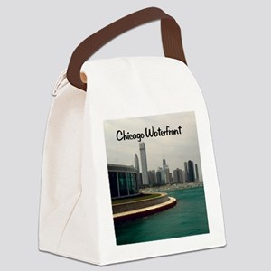 Chicago waterfront16x20 Canvas Lunch Bag
