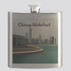 Chicago waterfront16x20 Flask