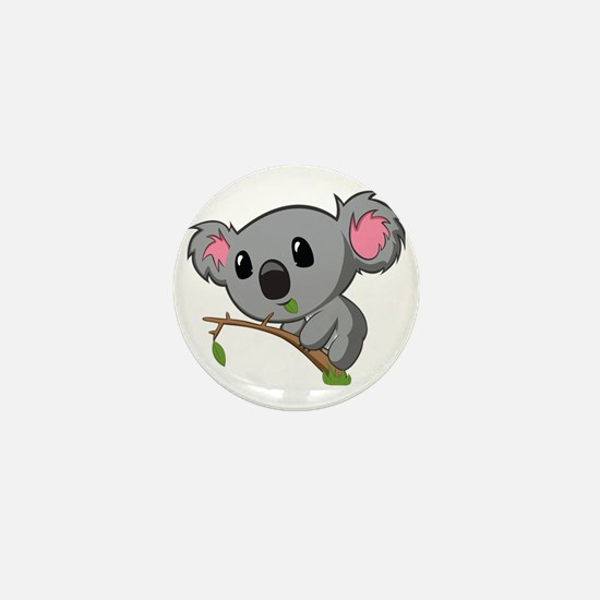 Hungry Koala Mini Button