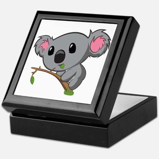Hungry Koala Keepsake Box