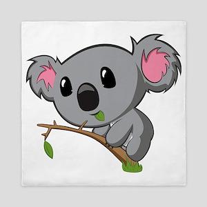 Hungry Koala Queen Duvet