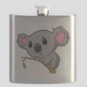 Hungry Koala Flask