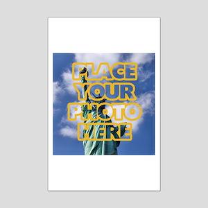 Add Photo Mini Poster Print