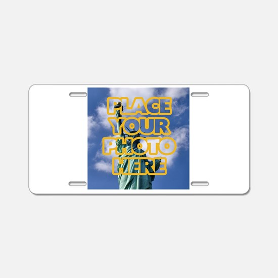 Add Photo Aluminum License Plate