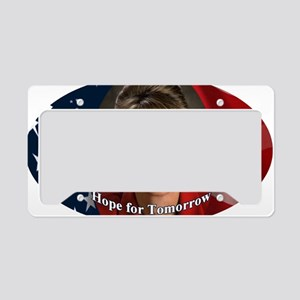2-Palin Oval License Plate Holder