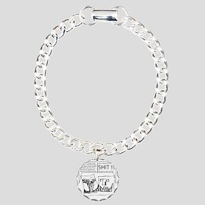 duofac_strip_rich_tapest Charm Bracelet, One Charm
