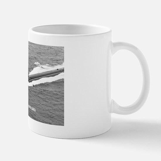 triton ssn postcard Mug