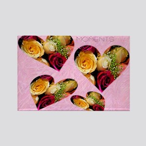 roses Note Card Rectangle Magnet