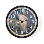 Honey Bee Fairy Wall Clock