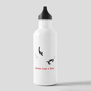 Catch Like a Girl Water Bottle