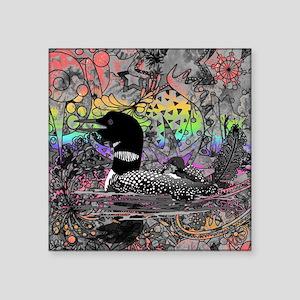 Wild Rainbow Loon Sticker