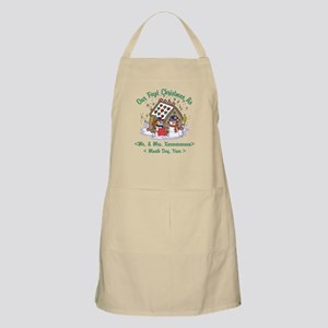 Personalized First Christmas As Mr & Mrs Apron