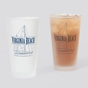 Virginia Beach - Drinking Glass