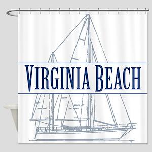 Virginia Beach - Shower Curtain