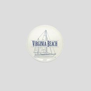 Virginia Beach - Mini Button