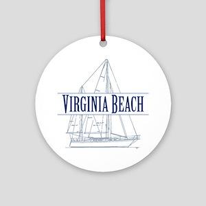 Virginia Beach - Ornament (Round)
