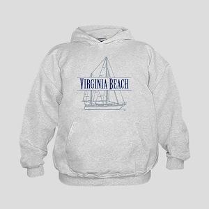 Virginia Beach - Kids Hoodie