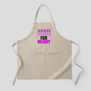 Women for Wendy Davis Apron