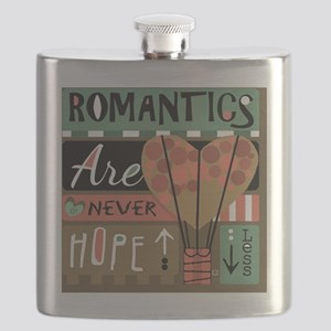 Romantics Are Never Hopeless Flask