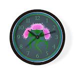 Scotch Thistle Wall Clock