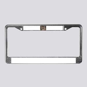 Mountain Cat License Plate Frame