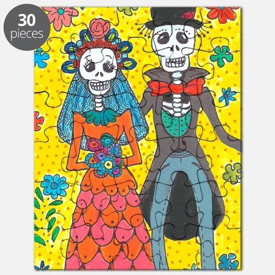 Cute Day of the dead Puzzle