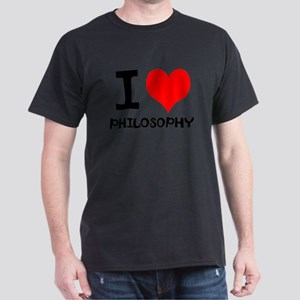 I Love Philosophy Dark T-Shirt