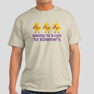 Alzheimers Walk For A Cure Light T-Shirt