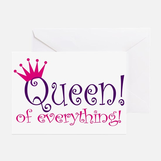 Queen of Everthing! Greeting Cards (Pk of 10)
