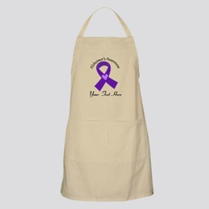 Personalized Alzheimers Ribbon Apron