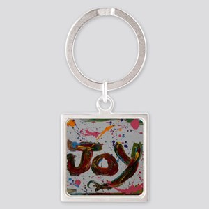 joy Square Keychain
