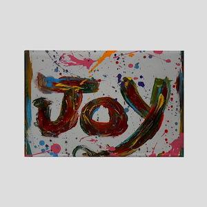 joy Rectangle Magnet