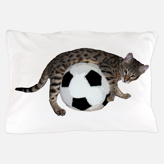 Cat Soccer - Pillow Case